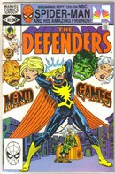 Defenders #102 comic book near mint 9.4
