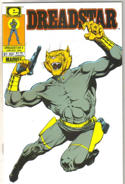 Dreadstar #8 comic book near mint 9.4