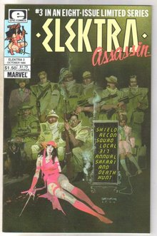 Elektra Assassin #3 comic book near mint 9.4
