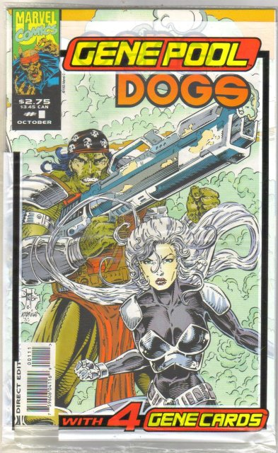 Gene Dogs #1comic book near mint 9.4
