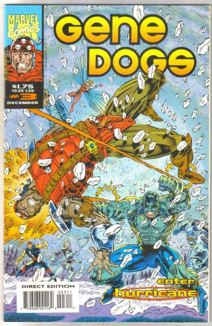 Gene Dogs #3 comic book near mint 9.4