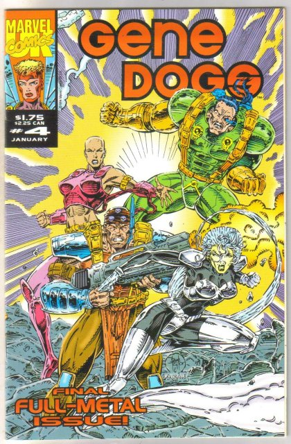 Gene Dogs #4 comic book near mint 9.4