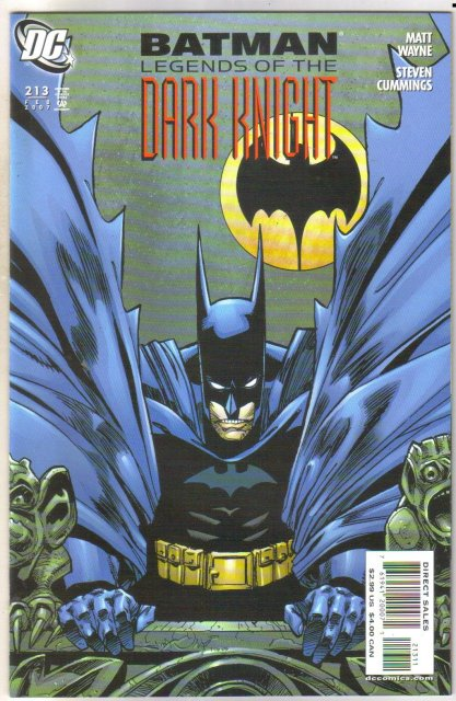 Batman Legends of the Dark Knight #213 comic book near mint 9.4