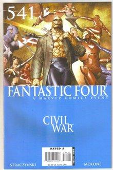 Fantastic Four #571 comic book near mint 9.4