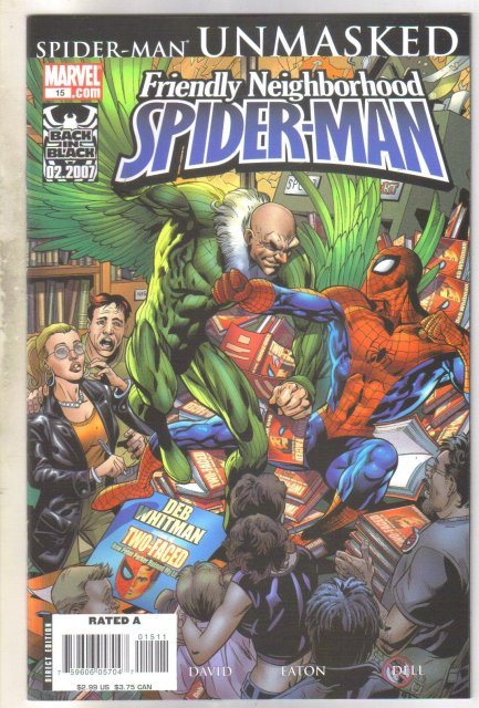 Friendly Neighborhood Spider-man #15 comic book near mint 9.4