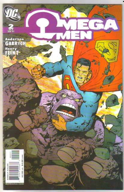 Omega Men #2 comic book mint 9.8