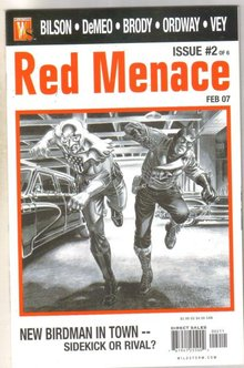 Red Menace #2 comic book mint 9.8