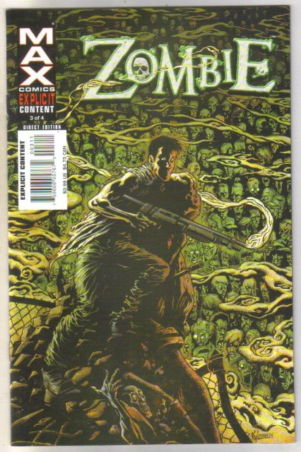 Zombie #3 comic book mint 9.8