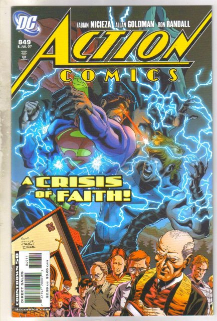 Action Comics #849 comic book mint 9.8
