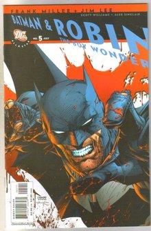 Batman and Robin #5 comic book mint 9.8