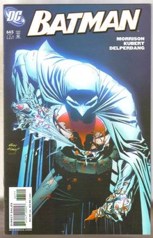 Batman #665 comic book near mint 9.4