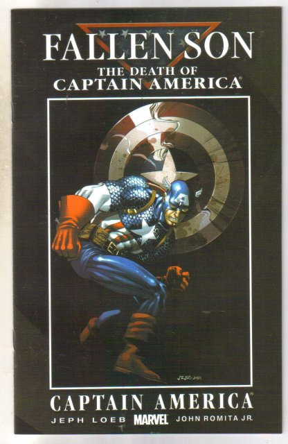Fallen Son Death of Captain Marvel chapter 3 cover a comic book near mint 9.4