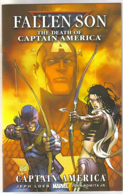 Fallen Son Death of Captain Marvel chapter 3 cover b comic book near mint 9.4