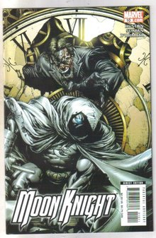 Moon Knight #10 comic book near mint 9.4
