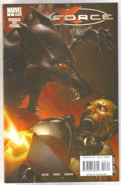 X Force #3 comic book mint 9.8