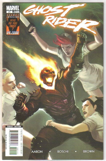 Ghost Rider #21 comic book mint 9.8