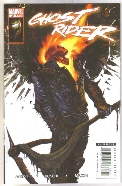 Ghost Rider #22 comic book mint 9.8