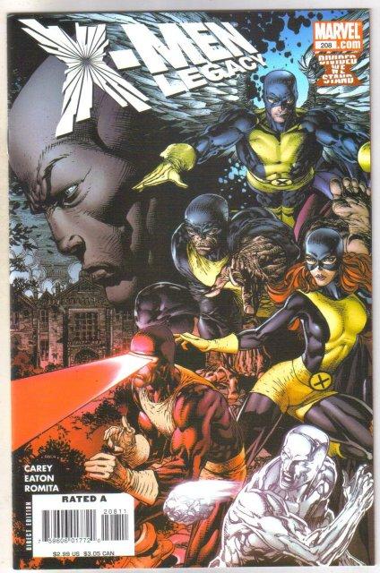 X-men Legacy #208 comic book mint 9.8
