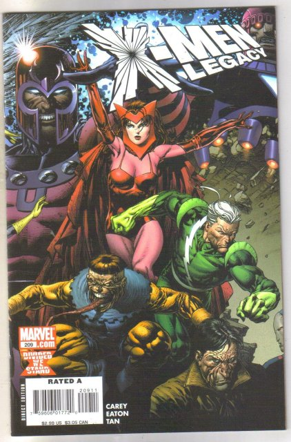X-men Legacy #209 comic book mint 9.8