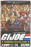 G.I. Joe America's Elite #33 comic book mint 9.8