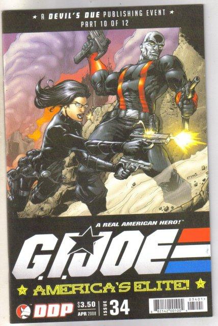 G.I. Joe America's Elite #34 comic book mint 9.8