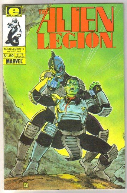 Alien Legion #15 comic book mint 9.8