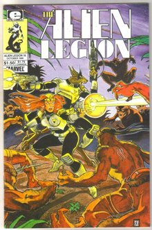 Alien Legion #16 comic book mint 9.8