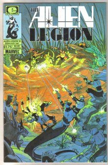Alien Legion #18 comic book mint 9.8