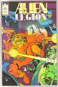 Alien Legion volume 2 #4 comic book mint 9.8