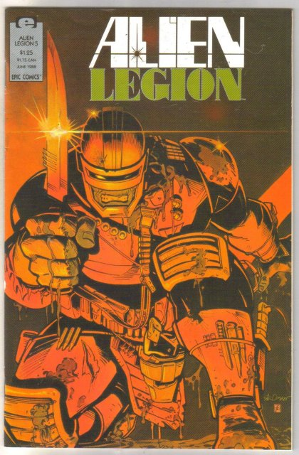 Alien Legion volume 2 #5 comic book near mint 9.4