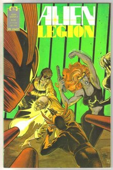 Alien Legion volume 2 #7 comic book near mint 9.4