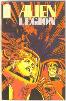 Alien Legion volume 2 #8 comic book near mint 9.4