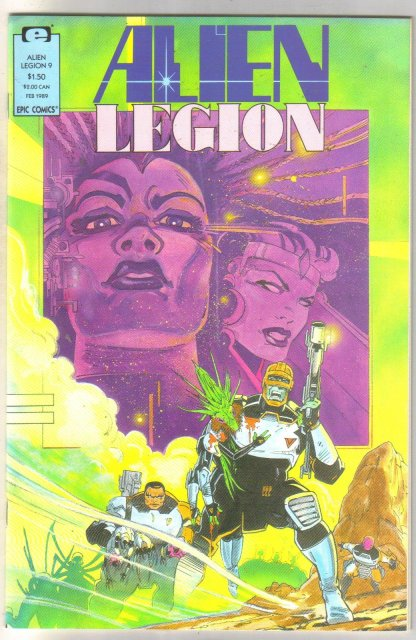 Alien Legion volume 2 #9 comic book near mint 9.4