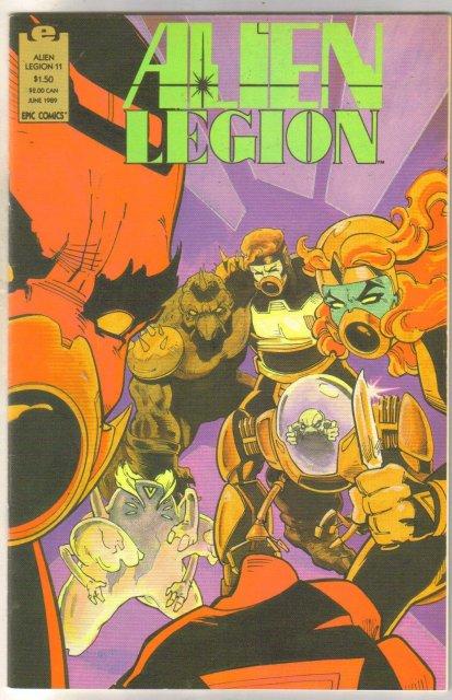 Alien Legion volume 2 #11 comic book near mint 9.4