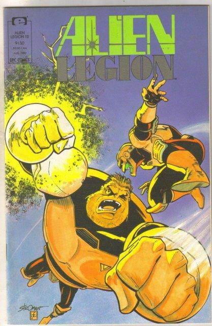 Alien Legion volume 2 #12 comic book near mint 9.4