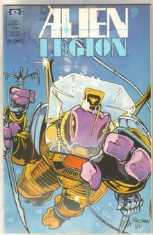 Alien Legion volume 2 #13 comic book near mint 9.4