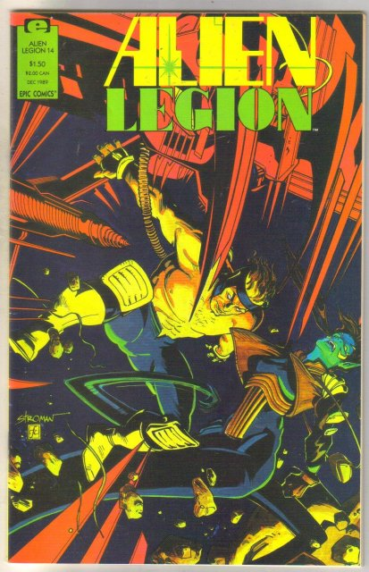 Alien Legion volume 2 #14 comic book near mint 9.4
