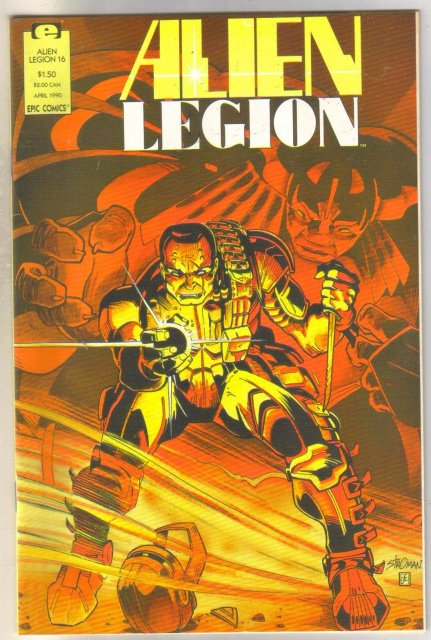 Alien Legion volume 2 #16 comic book near mint 9.4