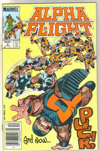 Alpha Flight #5 comic book near mint 9.4