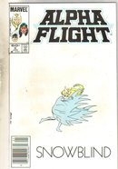 Alpha Flight #6 comic book mint 9.8