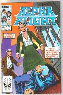 Alpha Flight #7 comic book near mint 9.4