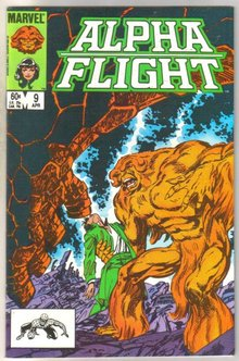 Alpha Flight #9 comic book mint 9.8