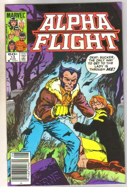 Alpha Flight #13 comic book mint 9.8
