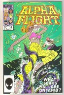 Alpha Flight #14 comic book mint 9.8