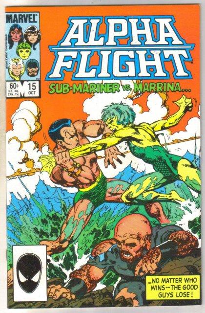 Alpha Flight #15 comic book mint 9.8