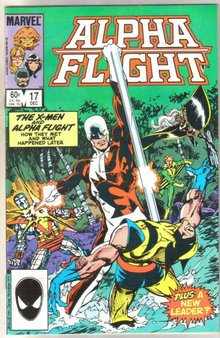 Alpha Flight #17 comic book mint 9.8