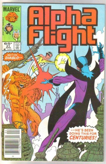 Alpha Flight #21 comic book mint 9.8
