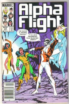Alpha Flight #27 comic book near mint 9.4