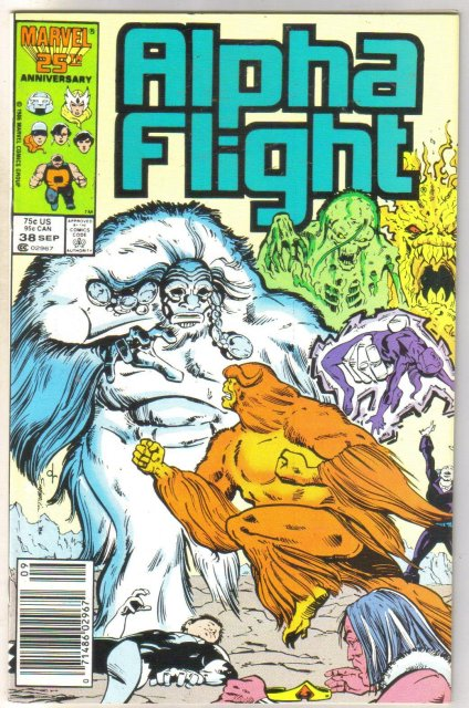 Alpha Flight #38 comic book mint 9.8