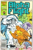 Alpha Flight #38 comic book mint 9.8